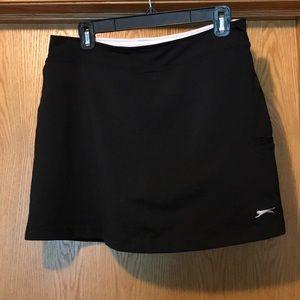 New Slazenger black tennis golf skort medium